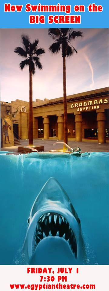 jaws at the egyptian